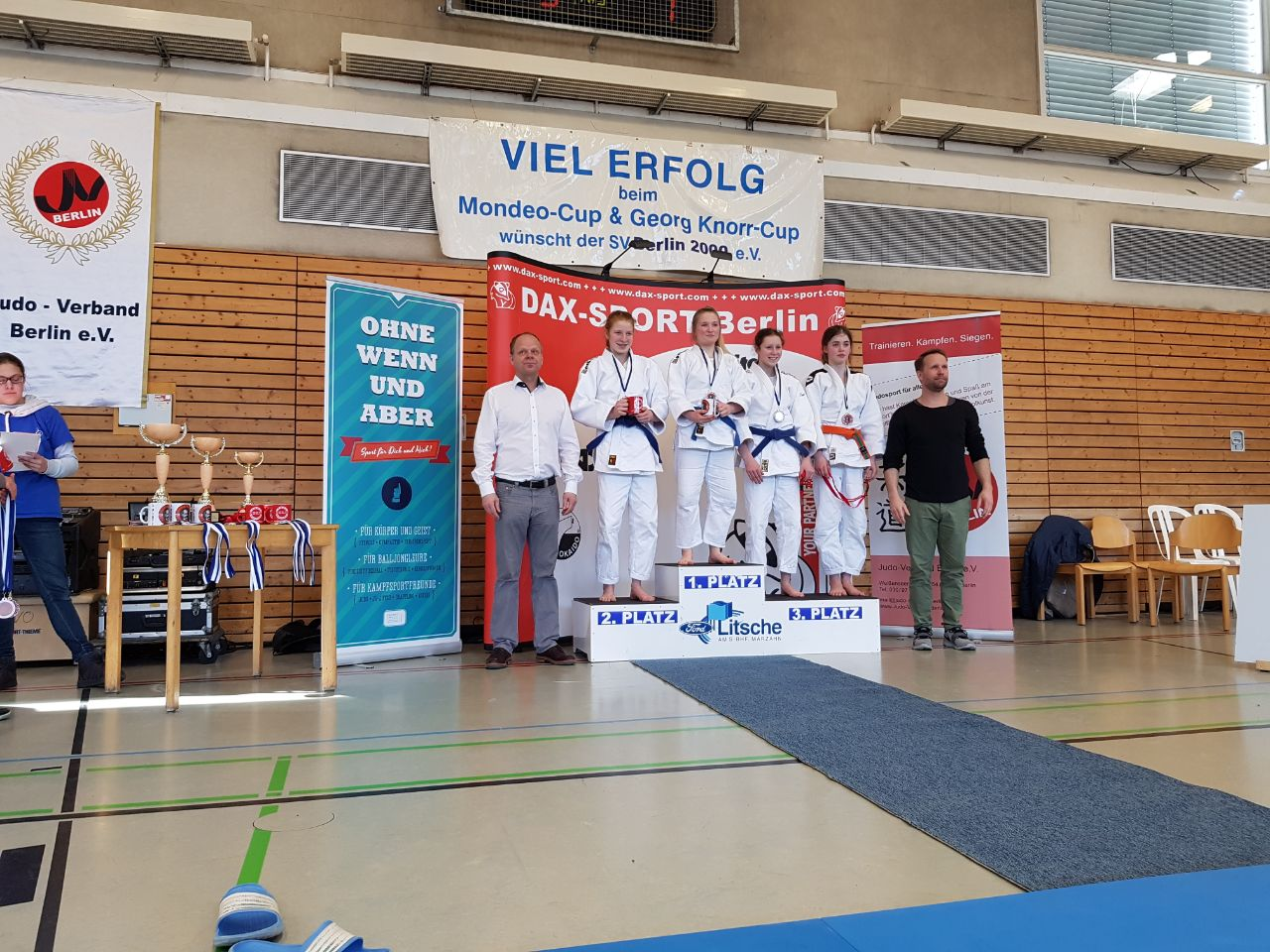 Judo - DJB-Sichtungsturniere U15 in Berlin - 2018-03-18